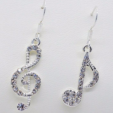 Crystal Music Earrings - PB and Apple Jelly