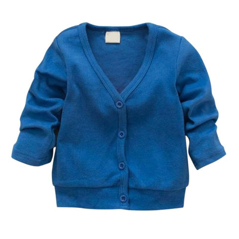 Knit Cardigan Sweater (Sizes 2T-4T) - PB and Apple Jelly