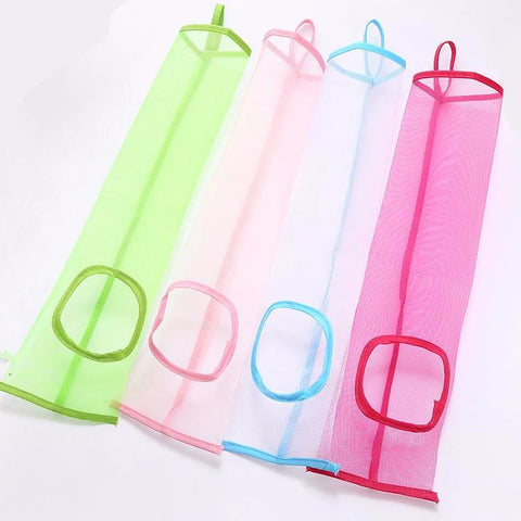 2PC Hanging Mesh Storage Bag Dispenser