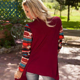 Solid Cardigans with Fun Sleeves (Reg. and Plus Sizes) - PB and Apple Jelly