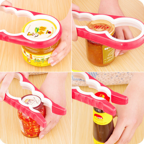 4-in-1 Jar/Bottle Opener - PB and Apple Jelly