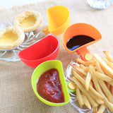 4-Pack Dip/Dressing Serving Tray Clips - PB and Apple Jelly
