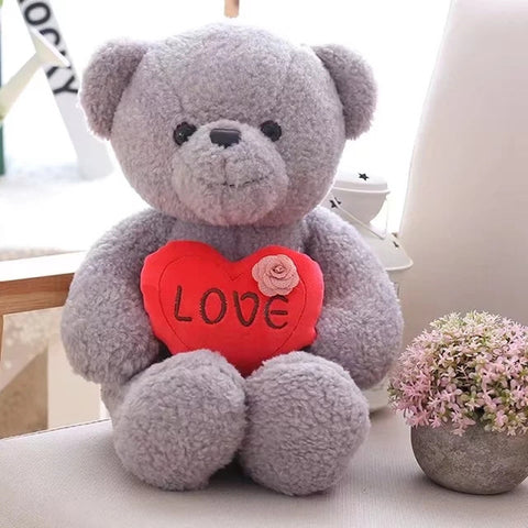 16in Plush Teddy Bears with Love Heart