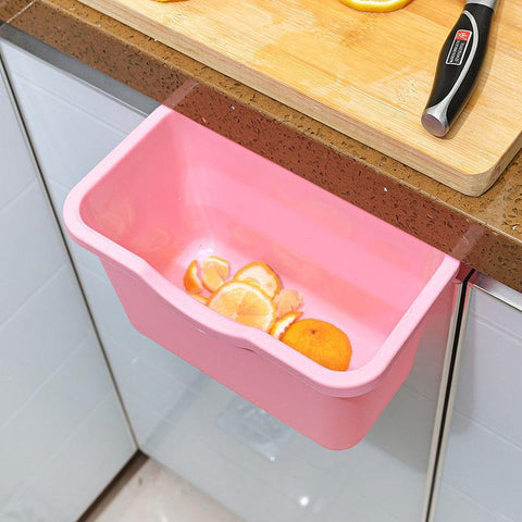 Hanging Kitchen Waste Bin for Scraps