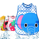 Cartoon Waterproof Bibs with Pocket - PB and Apple Jelly