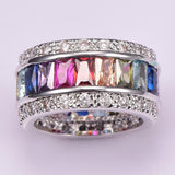 Sparkling Multi-Color Gemstone Rings (Sizes 6-12) - PB and Apple Jelly