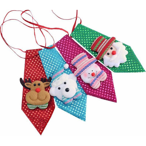 Children's Sequined Christmas Ties - PB and Apple Jelly