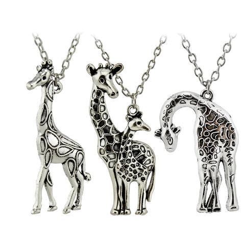 Giraffe Pendant Necklaces - PB and Apple Jelly