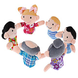 Adorable Animal and Family Finger Puppet Sets