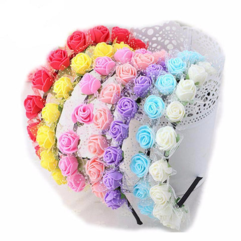 Beautiful Rose Headbands