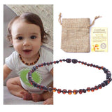 Authentic Baltic Amber Necklaces and Bracelets for Teething Discomfort - PB and Apple Jelly