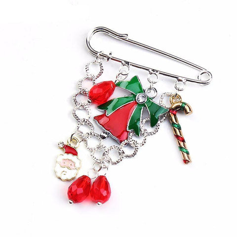 Dangly Christmas Pin - PB and Apple Jelly