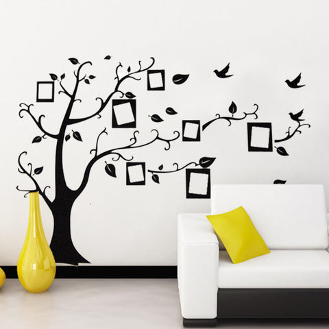 Family Photo Tree Wall Stickers - PB and Apple Jelly