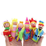 6pcs. Royal Finger Puppet Toys - PB and Apple Jelly