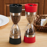 2-in-1 Hourglass Salt/Pepper Mill - PB and Apple Jelly
