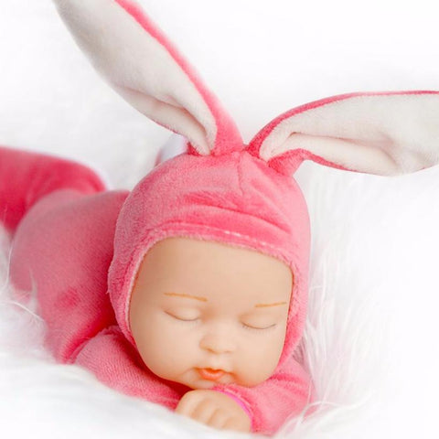 Rabbit Plush Baby Doll - PB and Apple Jelly