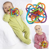 Baby Teething Rattle Toy