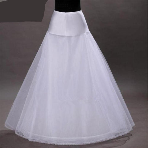 A-Line White Crinoline (Fits US Sizes 0-16) - PB and Apple Jelly