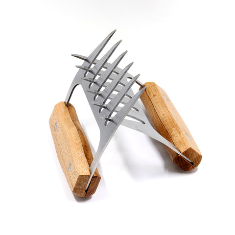 2Pc. Bear Claw Meat Shredder