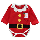 Santa's Good List Bodysuit (Sizes up to 18 months) - PB and Apple Jelly