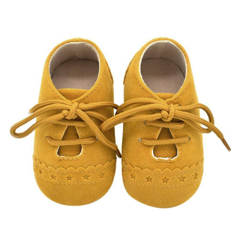Baby Lace-up Suede Shoes (up to 18 months)