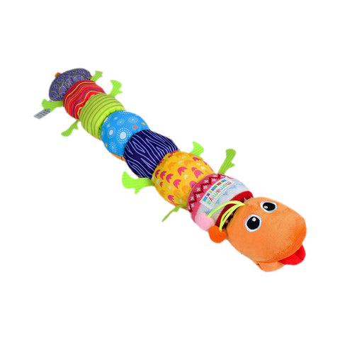 Baby Large Musical Stuffed Caterpillar - PB and Apple Jelly