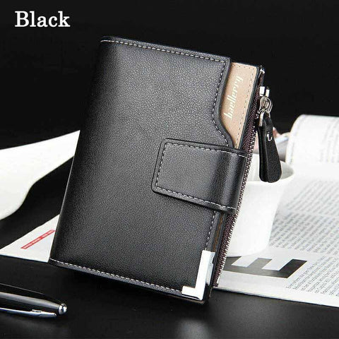 Soft PU Leather Men's Wallets