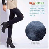 Warm Velvet Fur-Lined Toeless Tights/Leggings  (US Sizes XS-L) - PB and Apple Jelly