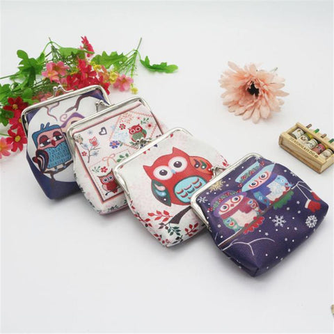 Cute Owl Change Purses - PB and Apple Jelly