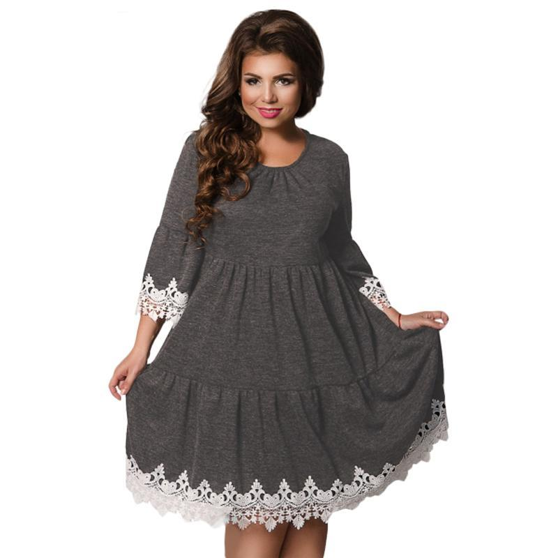 ca0992976 Cute and Comfy Dresses with Lace Trim (US Sizes 6-20) – PB and Apple ...