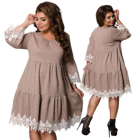 Cute and Comfy Dresses with Lace Trim (US Sizes 6-20)