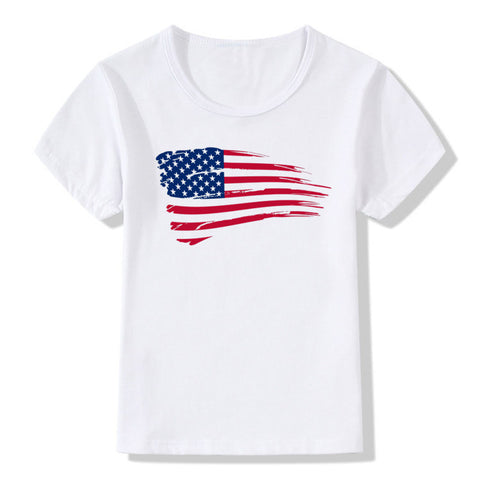 American Flag T-Shirts (Toddler/Kid Sizes) - PB and Apple Jelly