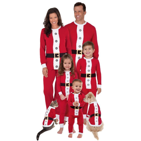 Christmas Elf/Santa Family Pajamas Sets