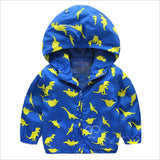 Printed Light-Weight Windbreaker Jackets (Sizes 24 month-6T) - PB and Apple Jelly