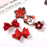 5PCS Set Lovely Barrettes - PB and Apple Jelly