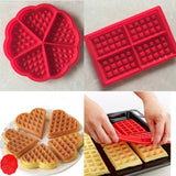 Silicone Waffle Molds - PB and Apple Jelly