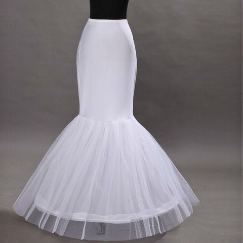 Mermaid-Style Crinoline (Fits 70-100CM Waists)