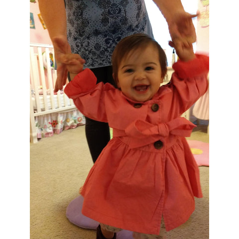 Adorable Light Trench Coat (Sizes 12month-4T)