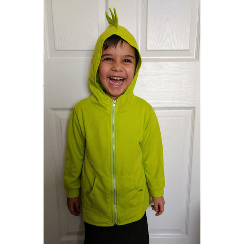 Dinosaur Hoodie Jacket (Sizes 2T-7)