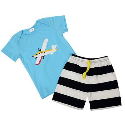 Soft Summer Shirt/Shorts Outfits (US Sizes 18 Month-5T) - PB and Apple Jelly