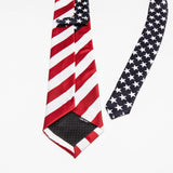 American Flag Necktie - PB and Apple Jelly