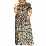 Soft Maxi Dresses with Pockets (US Sizes 14-26) - PB and Apple Jelly