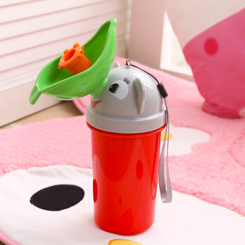Cute Portable Pee Bottles - PB and Apple Jelly