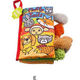 Baby Educational Cloth Books - PB and Apple Jelly