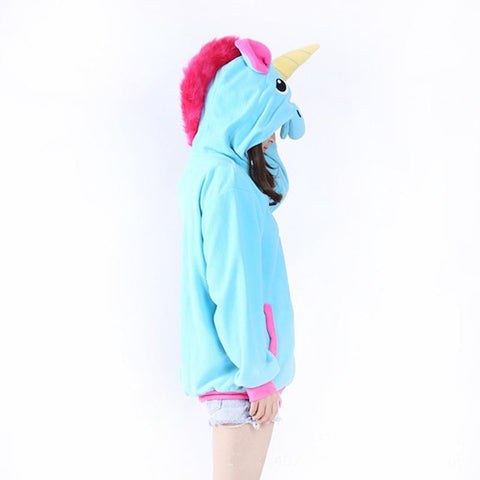 Cute Unicorn Hoodie (US Sizes S-XL) - PB and Apple Jelly