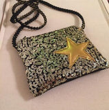 Small Blingy Star Purse - PB and Apple Jelly
