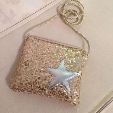 Small Blingy Star Purse