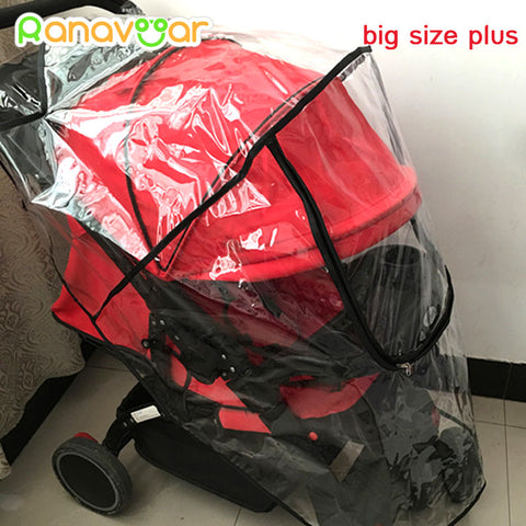 Universal Baby Stroller Rain Cover - PB and Apple Jelly