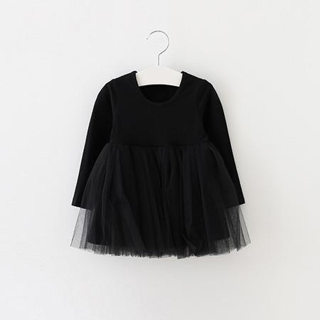 Ballerina-style Dress (Sizes 12 Month-4T) - PB and Apple Jelly