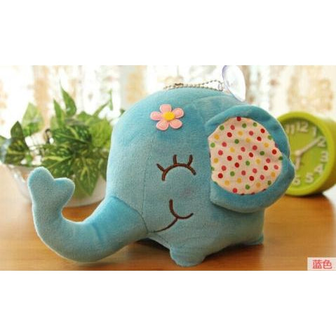 Plush Elephant (Toy or Window/Wall Cling) - PB and Apple Jelly